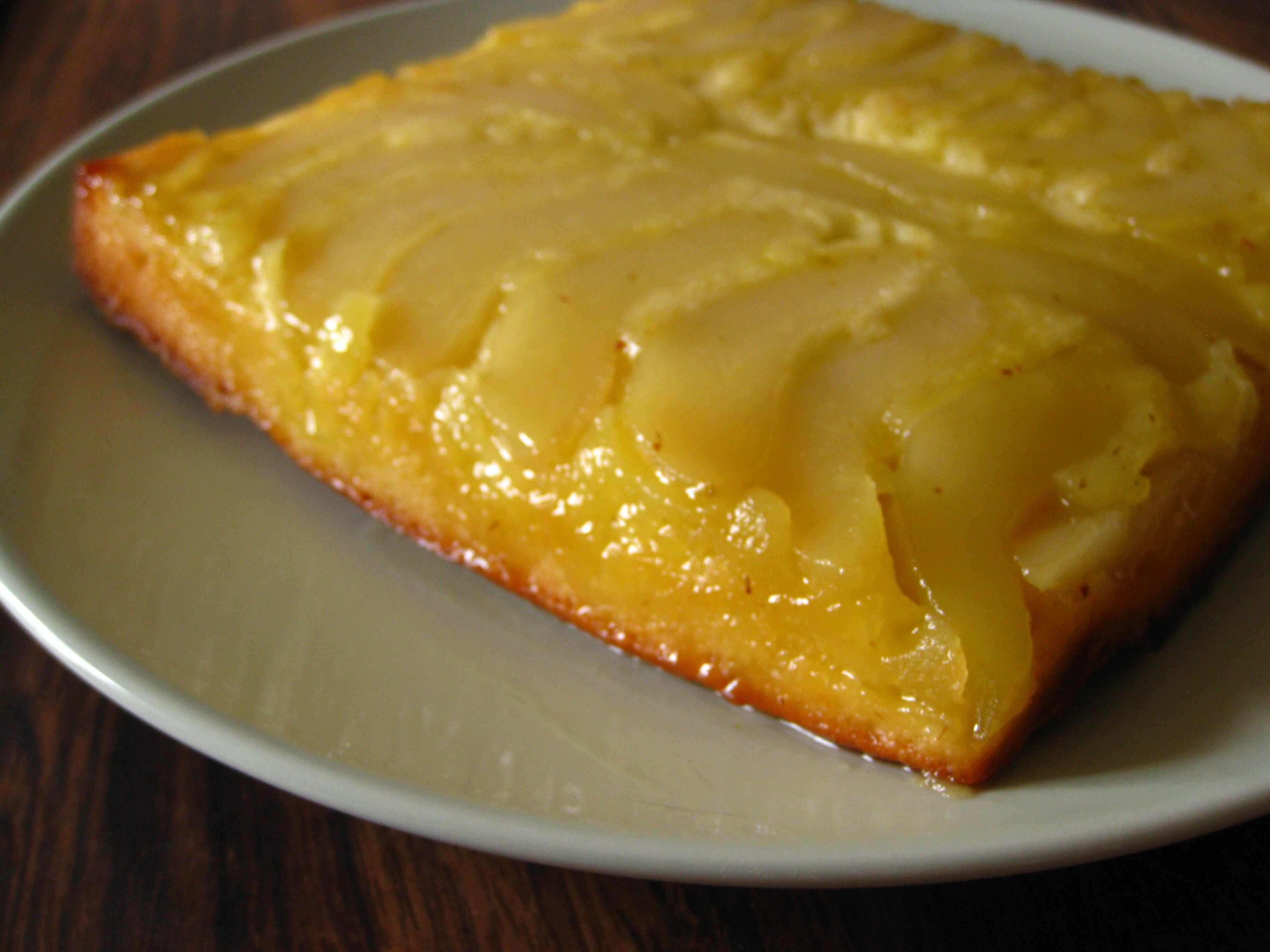Ginger Carmel Bundt Cake