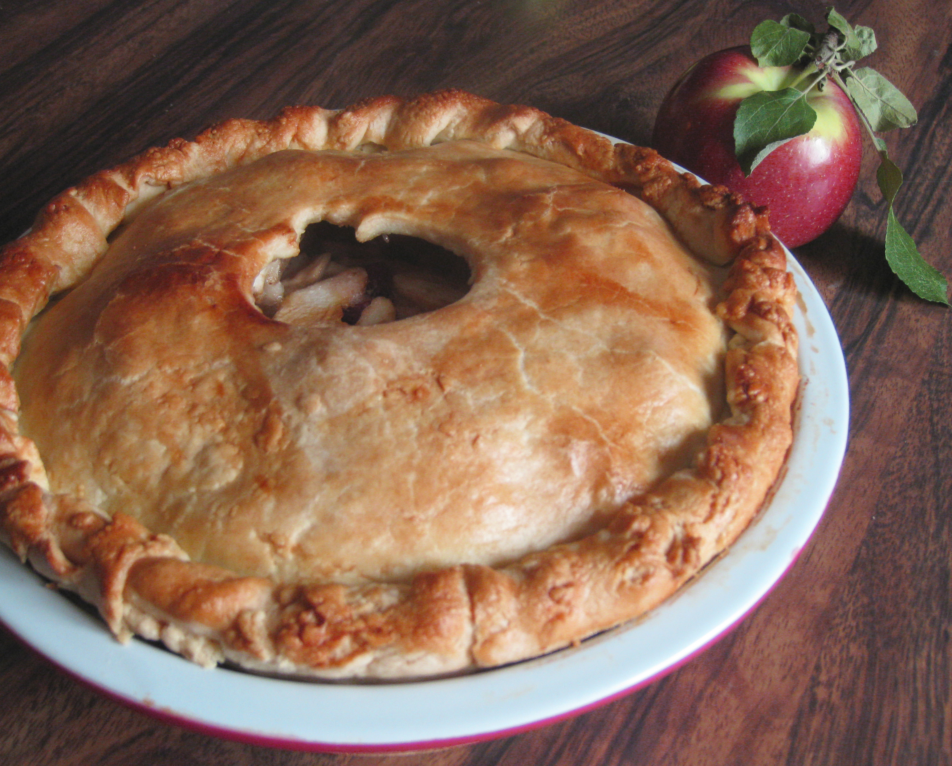 Old-Fashioned Apple Pie Recipe — Dishmaps