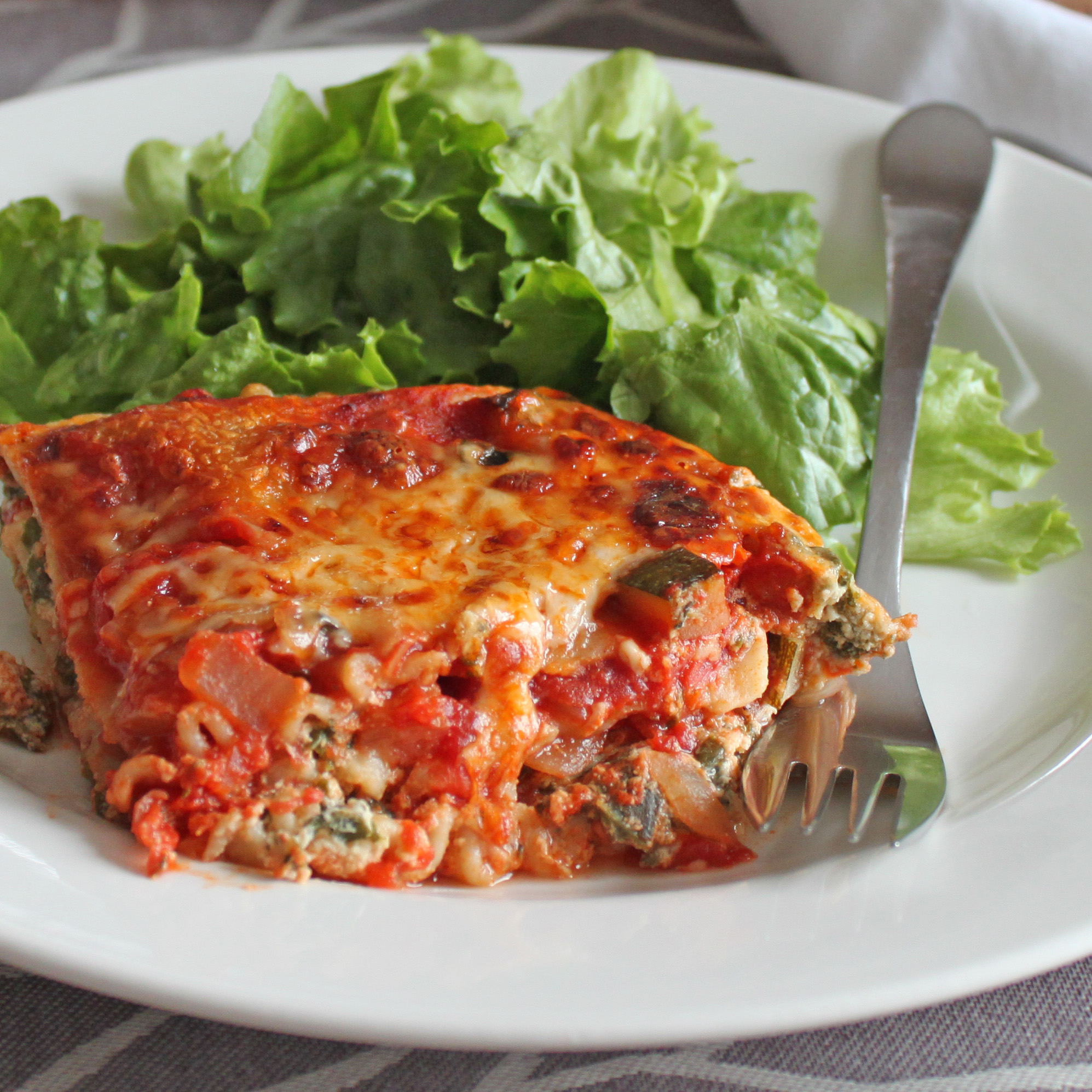 Vegetarian Lasagna Recipe — Dishmaps