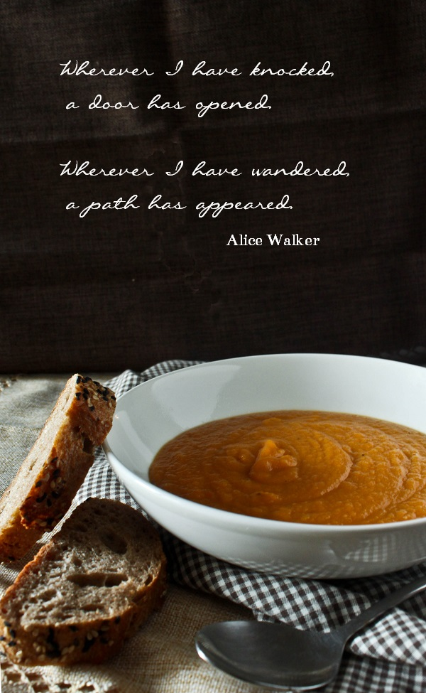 Carrot and Ginger Soup - What She's Having